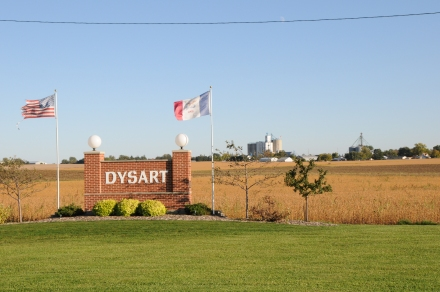 Dysart Entrance Sign #3